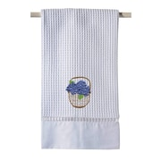 Jacaranda Living Hydrangea Basket 100pct Cotton Hand Towel