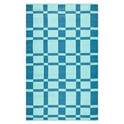 Thom Filicia Rugs Thom Filicia Saddle Sea Blue Indoor/Outdoor Rug; Runner 2' x 8'