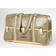 Clava Leather Carina 18'' Travel Duffel; Army
