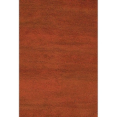 Chandra Strata Red Area Rug; Rectangle 7'9'' x 10'6''