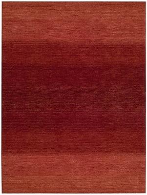 Calvin Klein Rugs Linear Glow Hand-Woven Watercolor Sumac Area Rug; Rectangle 7'9'' x 10'10''