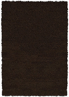 Chandra Strata Black Area Rug; Rectangle 5' x 7'6''