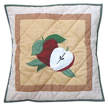 Patch Magic Festive Fruit Cotton Throw Pillow