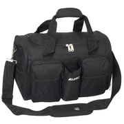 Everest 18'' Sports Travel Duffel w/ Wet Pocket; Black