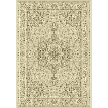Dynamic Rugs Imperial Cream Area Rug; Rectangle 6'7'' x 9'6''
