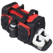 Everest 18'' Sports Travel Duffel w/ Wet Pocket; Red/Black