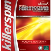 Killerspin Fortissimo High Tension 0.08'' Table Tennis Rubber in Red