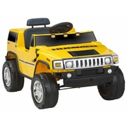 Kidz Motorz Hummer 6V Battery Powered Jeep; Yellow