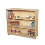 Wood Designs Shelving Unit w/ Casters; 30'' H x 48'' W x 15'' D