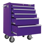 Viper Tool Storage 26''W 5-Drawer Tool Chest; Purple