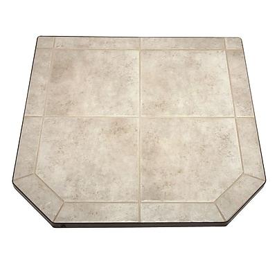 US Stove Type 1 Tile Hearth Pad; Carmel
