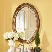 Kaco Guild Hall Small Vanity Mirror; Distressed Pecan