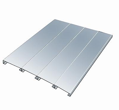 Hallowell Rivetwell Shelving EZ-Deck Decking; 0.75'' H x 84'' W x 48'' D