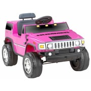 Kidz Motorz Hummer 6V Battery Powered Jeep; Pink by