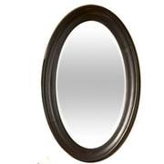 Kaco Guild Hall Small Vanity Mirror; Distressed Black