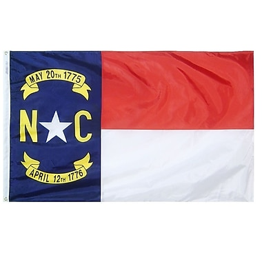 Annin Flagmakers North Carolina State Flag; 4' x 6'