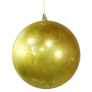 Vickerman Foil Finish Ball Ornament (Set of 3); 10'' H x 10'' W x 10'' D