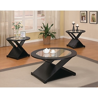 Wildon Home Amalga 3 Piece Coffee Table Set