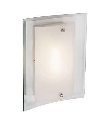 TransGlobe Lighting 1-Light Wall Sconce; 12.75'' H x 10.5'' W x 3.5'' D