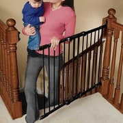 KidCo Angle Mount Safeway Gate; Black