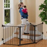 KidCo Auto Close Configure Gate; Black