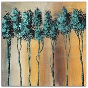 Metal Art Studio 'Dream Land Fluid Gold' by Megan Duncanson Painting Print Plaque