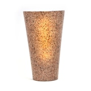 It's Exciting Lighting Vivid 1-Light Battery Powered Wall Sconce; Granite
