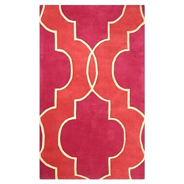 MOTI Rugs Chelsea Fuchsia Rug; Rectangle 8' x 11'