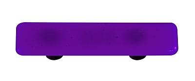 Hot Knobs Solids 3'' Center Bar Pull; Aluminum