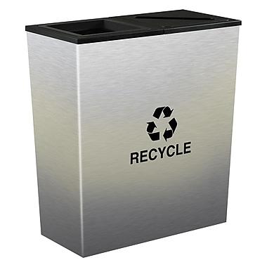 Ex-Cell Kaiser Metro 36 Gallon Multi Compartment Recycling Bin