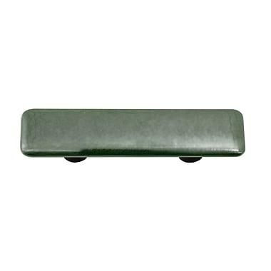 Hot Knobs Metallic 3'' Center Bar Pull; Aluminum