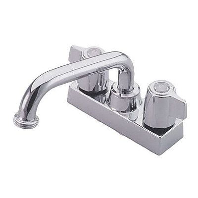 Elements of Design Centerset Laundry Faucet w/ Double Lever Handles; Polished Chrome WYF078276464543