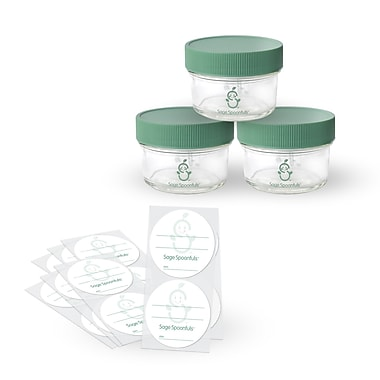 Sage Spoonfuls Sage Spoonfuls Mini 3 Container Food Storage Set
