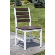 Elan Furniture Loft Patio Dining Chair; Textured White