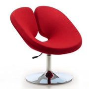 Ceets Perch Leisure Lounge Chair; Red