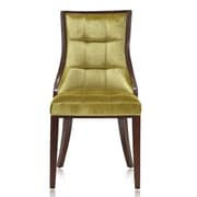Ceets 5th Ave Parsons Chair (Set of 2); Green
