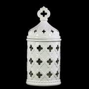 Urban Trends Decorative Jar; 14'' H x 6.5'' W x 6.5'' D