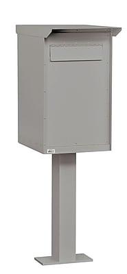 Salsbury Industries Aluminum 1 Unit Drop Box; Primer