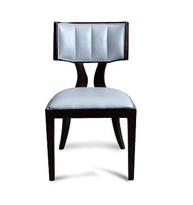 Ceets Regency Upholstered Dining Chair (Set of 2); Silver