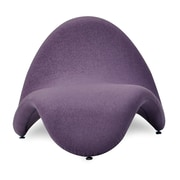 Ceets Tongue Lounge Chair; Purple