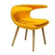 Ceets Clipper Lounge Chair; Yellow