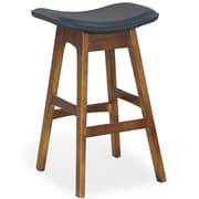 Ceets 28'' Bar Stool; Black
