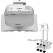 Epson – Projecteur interactif BrightLink Pro 1420Wi WXGA 3LCD avec dispositif de fixation sur table