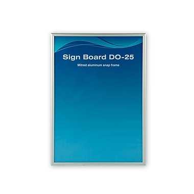 Can-Bramar Sign Board With Acrylic Protection, 18