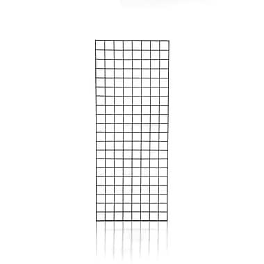 Can-Bramar – Panneau grillagé, 2 pi x 6 pi x 1/4 po, noir, 3/paquet