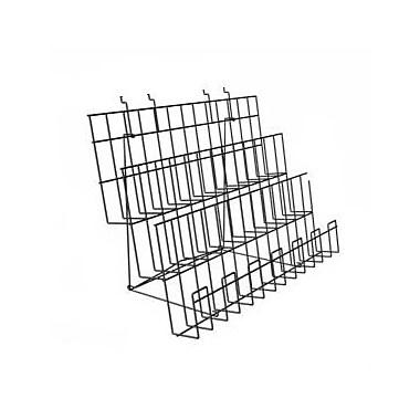 Can-Bramar Universal 3 Tier Cd/Dvd Shelf, 48
