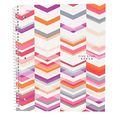 Five Star® Style 1-Subject Notebook, 8-1/2