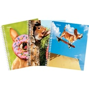 "Mead® Avanti® Ideal Size Notebook, 7-1/2"" x 8.56"", Assorted, 120 Pages"