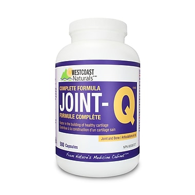Westcoast Naturals – Suppléments Joint-QMC 30346, 500 capsules, blanc