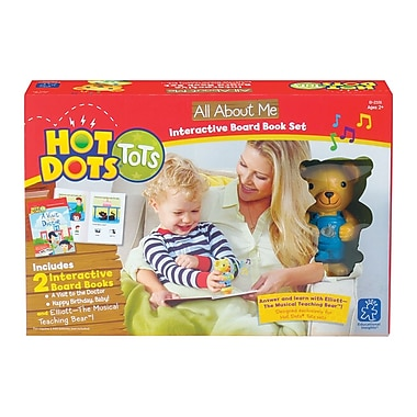 Educational Insights® Hot Dots Tots All About Me Interactive Board Book Set 2331